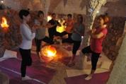 Yoga-Kurse in der Salzgrotte
