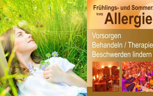 Hilfe & Linderung bei Allergien …