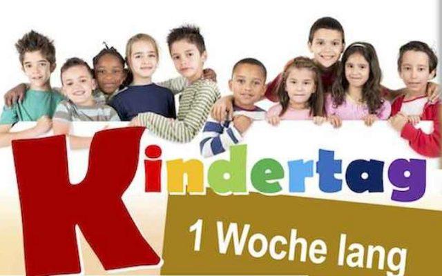Kindertags-WOCHE
